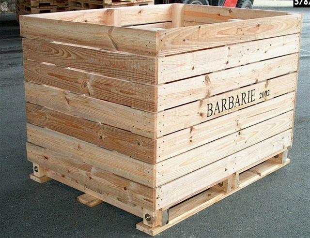 palox palettes caisses palettes bois en dordogne. Black Bedroom Furniture Sets. Home Design Ideas
